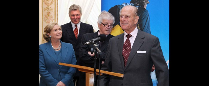 Video Me – Gaisce -His Royal Highness, The Duke of Edinburgh visit to Farmleigh